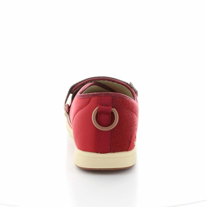 ムーンスター レディース 介護 片足販売 パステル405右足 ワイン デイケアタイプ介護靴 足に優しい新感覚