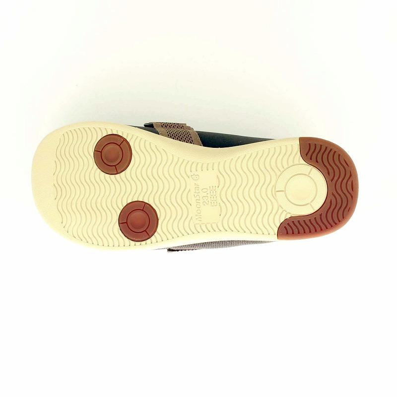 ムーンスター メンズ/レディース 介護 片足販売 パステル405右足 ブラウン デイケアタイプ介護靴 足に優しい新感覚