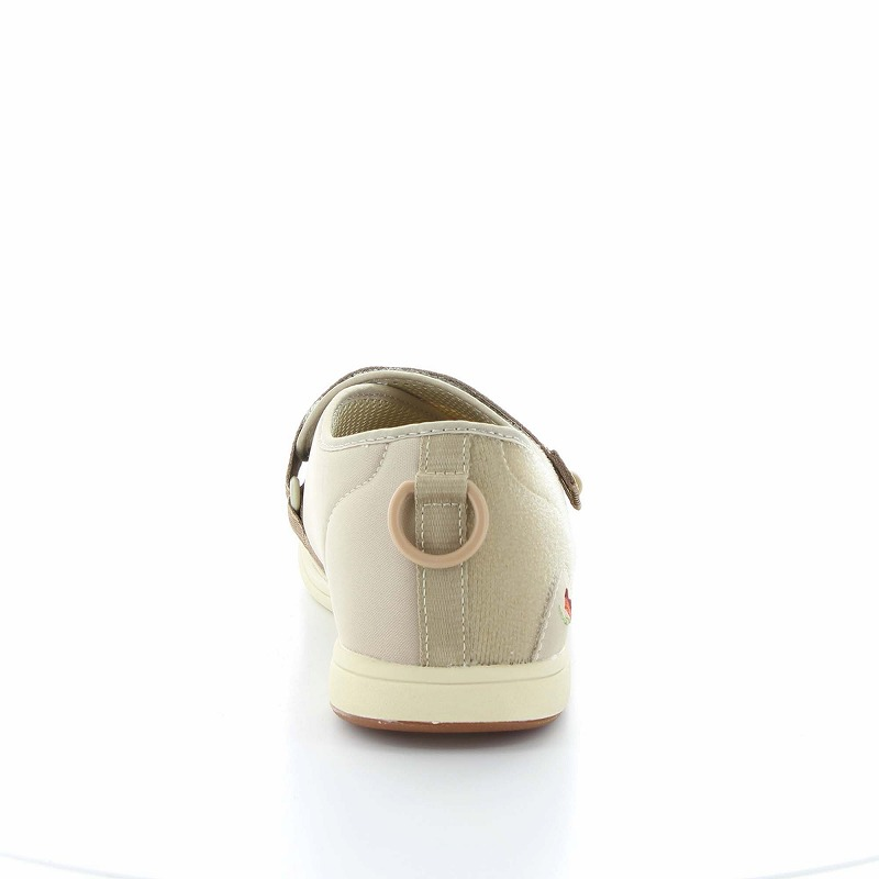 ムーンスター メンズ/レディース 介護 片足販売 パステル405右足 ベージ デイケアタイプ介護靴 足に優しい新感覚