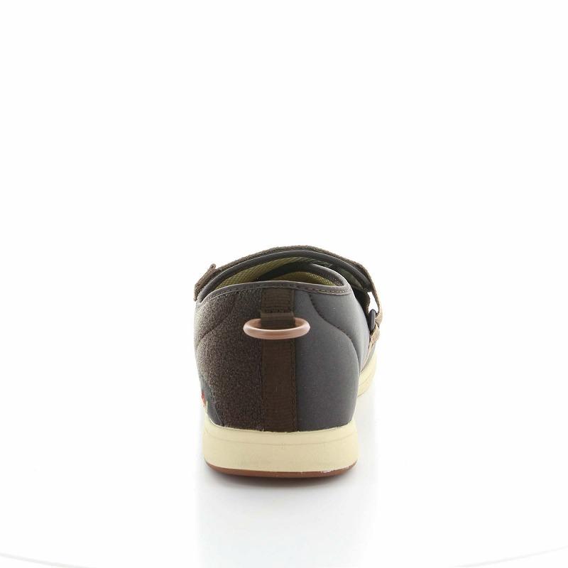 ムーンスター メンズ/レディース 介護 片足販売 パステル405左足 ブラウン デイケアタイプ介護靴 足に優しい新感覚