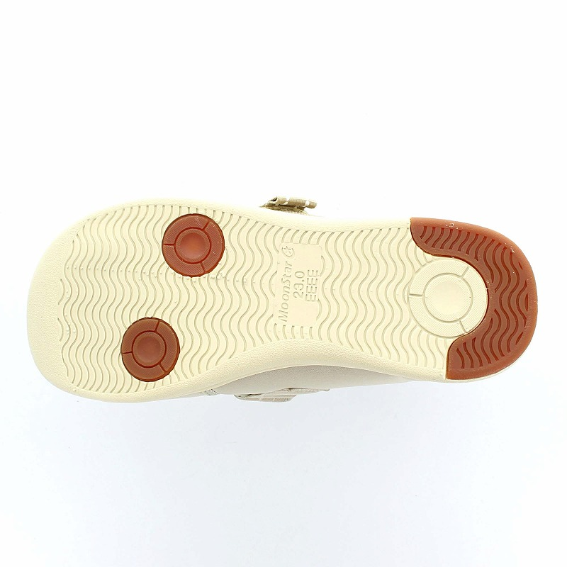 ムーンスター メンズ/レディース 介護 片足販売 パステル406左足 ベージ デイケアタイプ介護靴 足に優しい新感覚