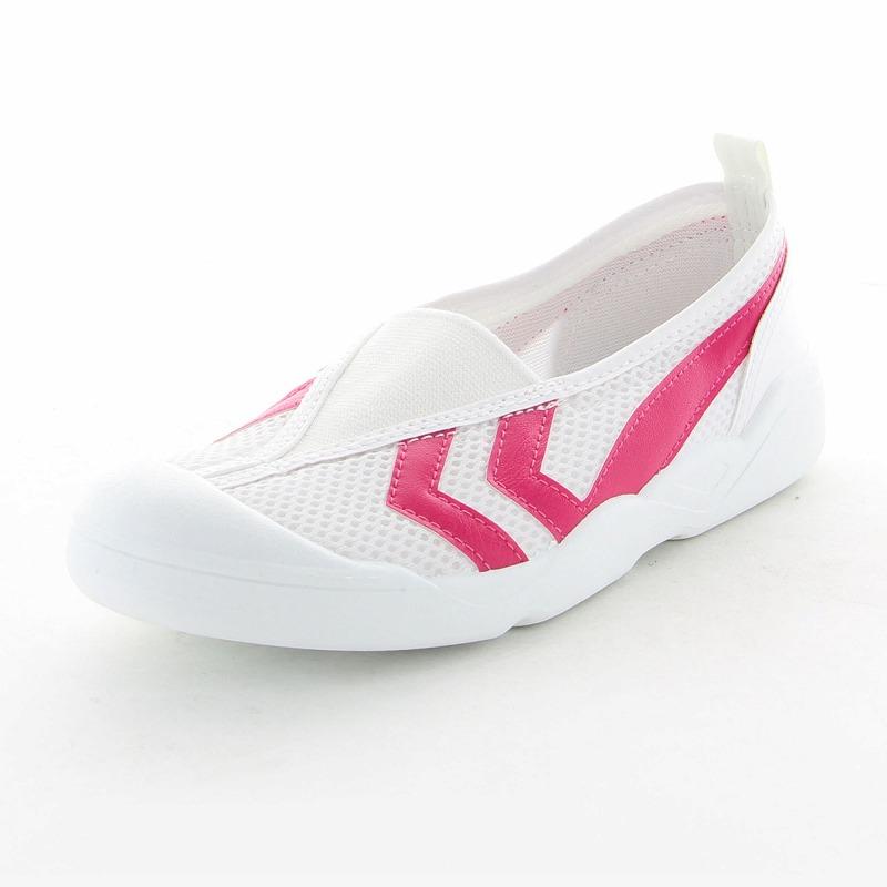 ムーンスター 子供靴/メンズ/レディース バイオTEF 01 ピンク ムーンスター 汚れにくいテフロン加工の上履き