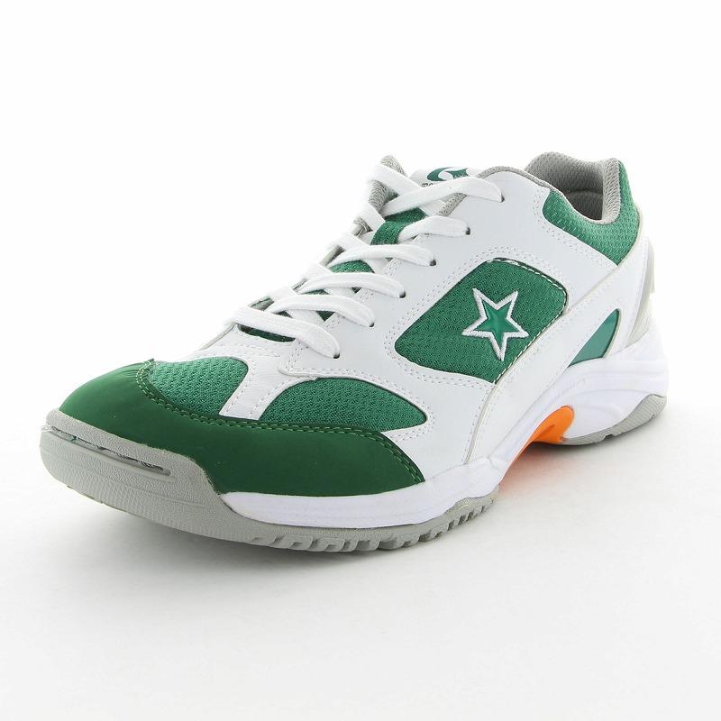 ムーンスター 子供靴/メンズ/レディース MS 3100G グリーン ムーンスター 高機能グランドシューズ