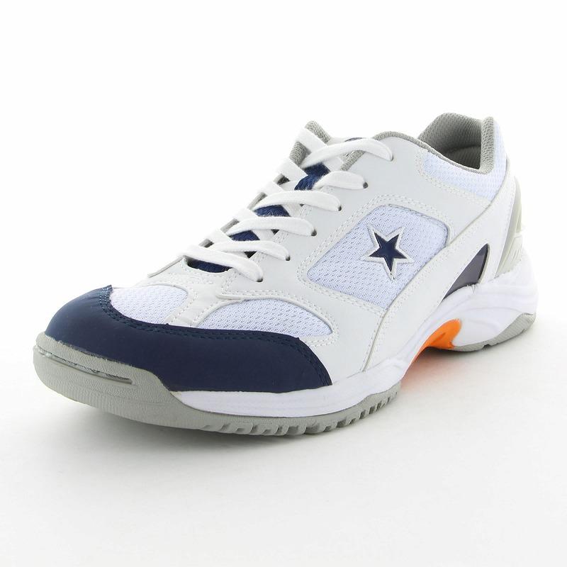 ムーンスター 子供靴/メンズ/レディース MS 3100G W/ネイビー ムーンスター 高機能グランドシューズ