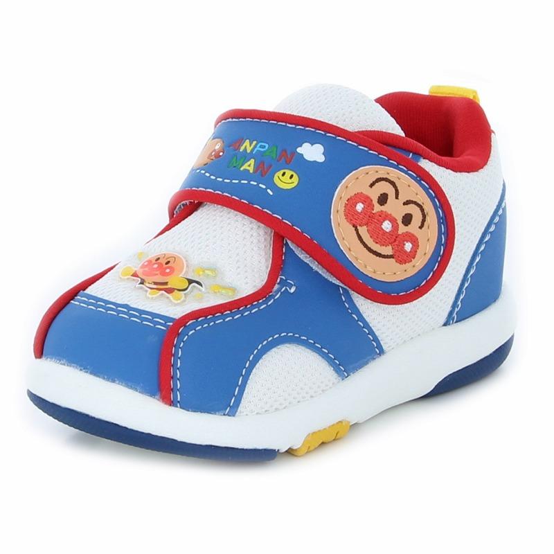 アンパンマン 子供靴 ベビー アンパンマンベビー08 ブルー 大人気 ...