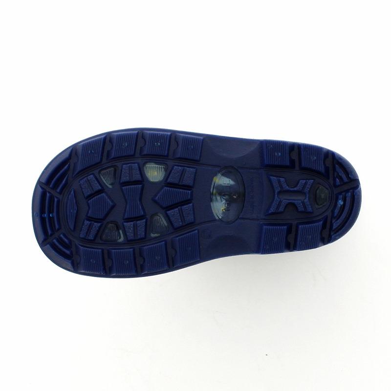 ムーンスター 子供靴 レインブーツ MS RB C65 ネイビー 滑りにくいチャイルドレインブーツ