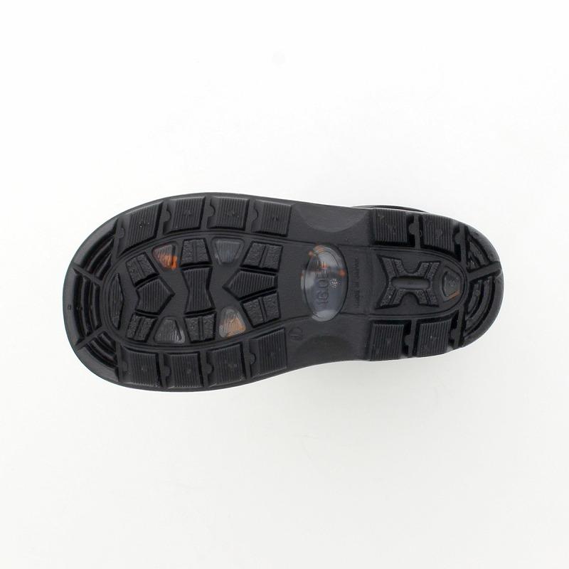 ムーンスター 子供靴 レインブーツ MS RB C65 ブラック 滑りにくいチャイルドレインブーツ