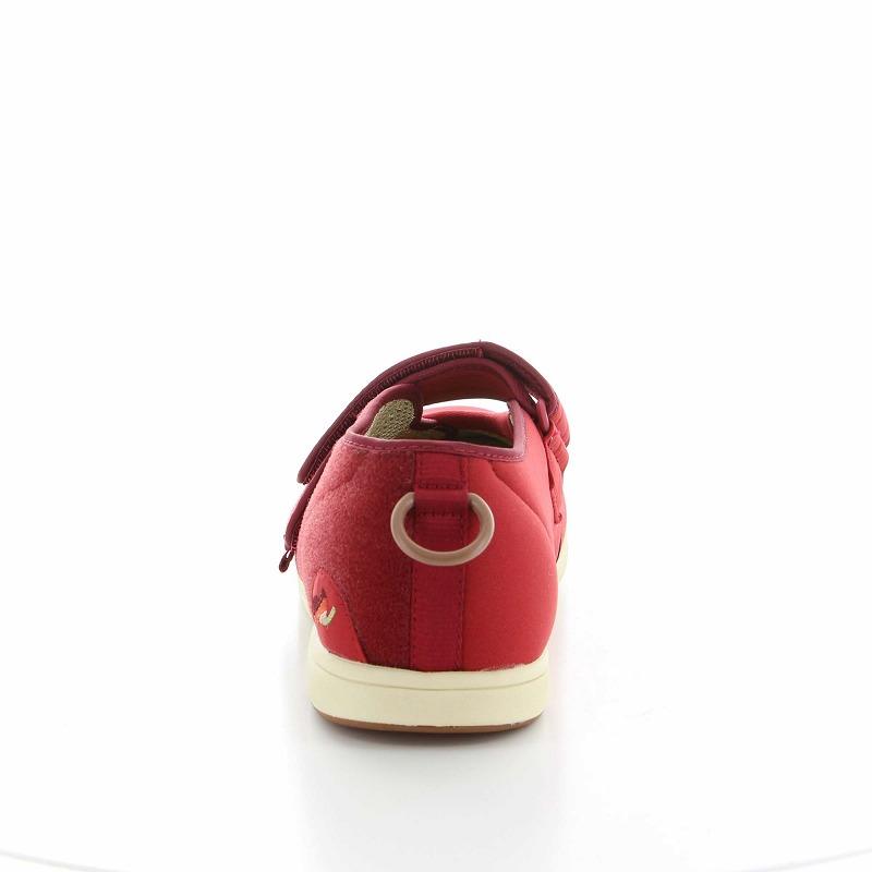 ムーンスター メンズ/レディース 介護 パステル406 ワイン デイケアタイプ介護靴 足に優しい新感覚