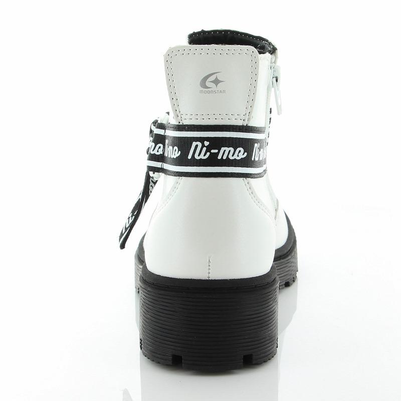 ムーンスター ニーモ NM J021 ホワイト