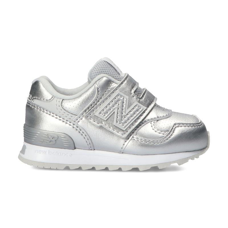 ニューバランス 子供靴 ベビーシューズ NB IO313L SV W メタリックシルバー