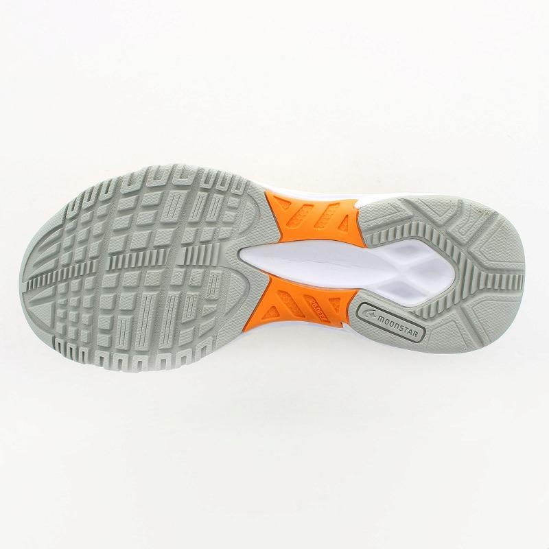 ムーンスター 子供靴/メンズ/レディース MS 3100G イエロー ムーンスター 高機能グランドシューズ