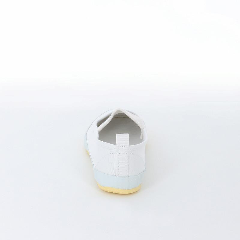 ムーンスター 子供靴/メンズ/レディース バンドバレー ホワイト 定番の上履き