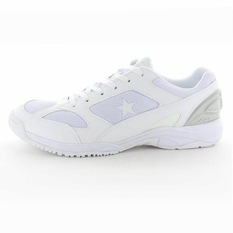 ムーンスター 子供靴/メンズ/レディース MS 3100G ホワイト ムーンスター 高機能グランドシューズ