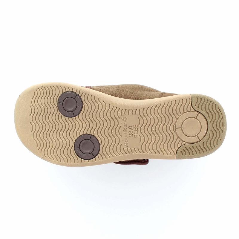ムーンスター メンズ/レディース 介護 片足販売 パステル403右足 ブラウン デイケアタイプ介護靴 足に優しい新感覚