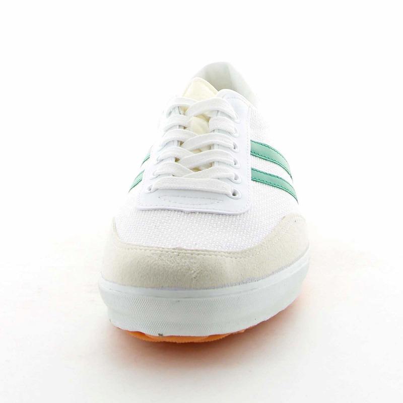 ムーンスター 子供靴/メンズ/レディース ジムエースDX グリーン ムーンスター 定番の体育館シューズ