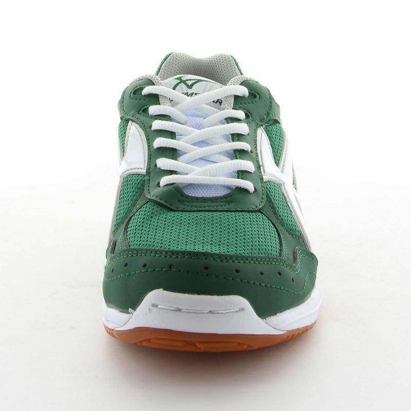 ムーンスター 子供靴/メンズ/レディース ジムスターS300 グリーン ムーンスター 高機能体育館シューズ