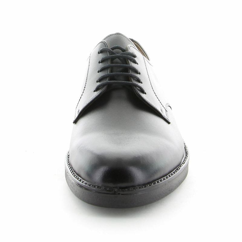ムーンスター メンズ BV2710 クロ ムーンスター 本革のメンズ用通学シューズ(紐靴)