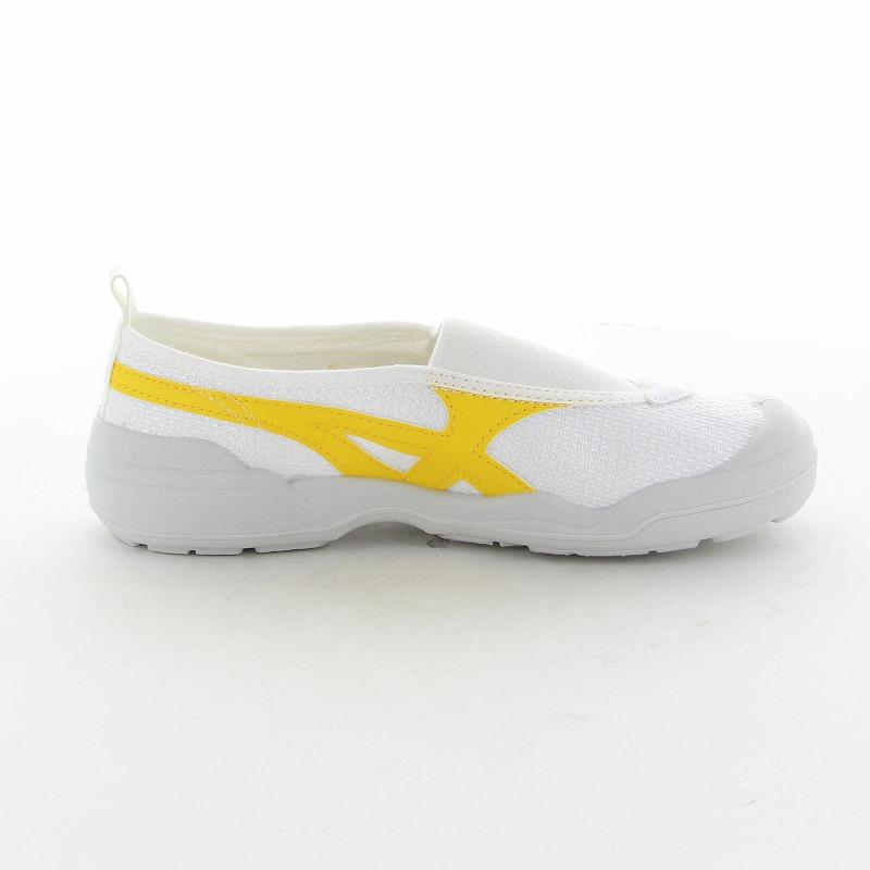 ムーンスター 子供靴/メンズ/レディース バイオLT 01 イエロー ムーンスター 足の健康と地球環境に配慮した上履き