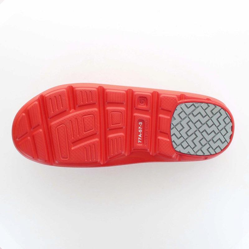 ムーンスター 子供靴/メンズ/レディース MS 7100S レッド ソフトな履き心地とクッション性に優れた快適なサンダル