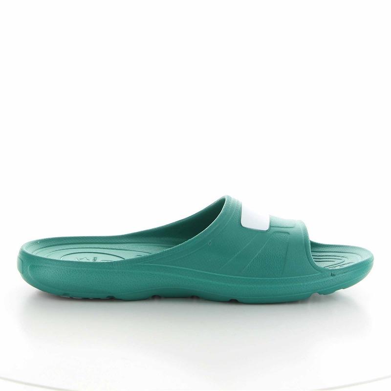 ムーンスター 子供靴/メンズ/レディース MS 7100S グリーン ソフトな履き心地とクッション性に優れた快適なサンダル