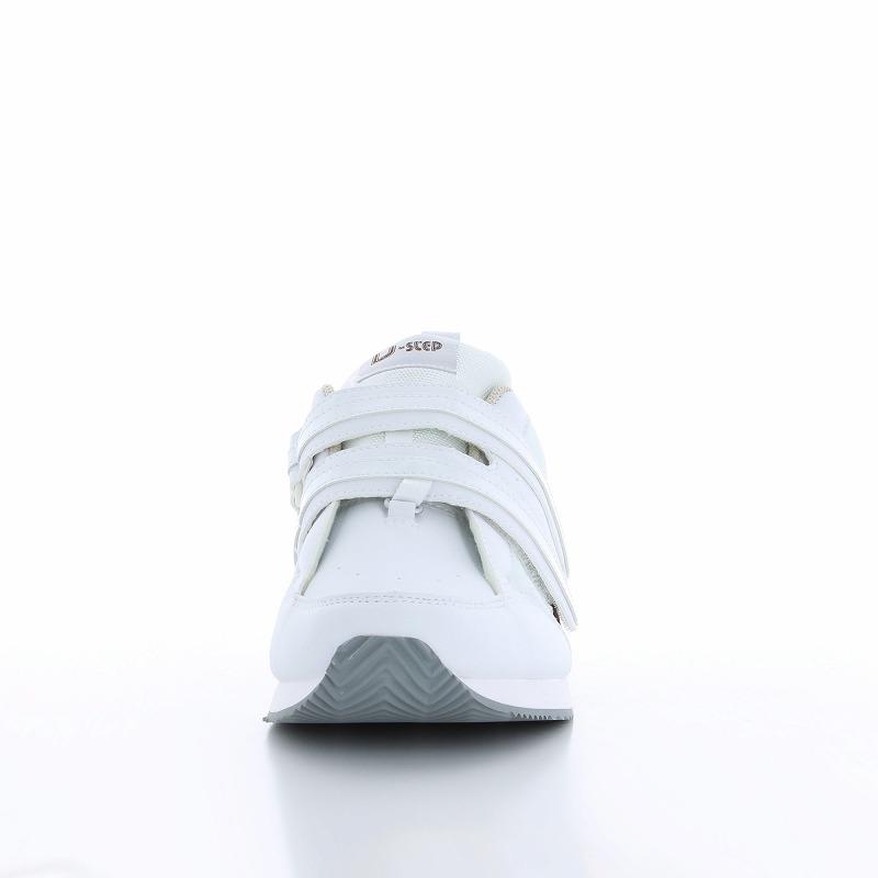 ムーンスター メンズ/レディース リハビリ 介護靴 片足販売 Vステップ06(左足のみ) ホワイト