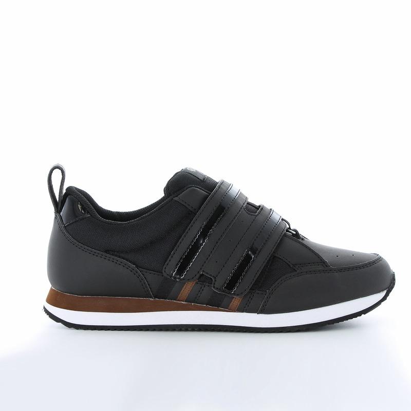 ムーンスター メンズ/レディース リハビリ 介護靴 片足販売 Vステップ06(右足のみ) ブラック
