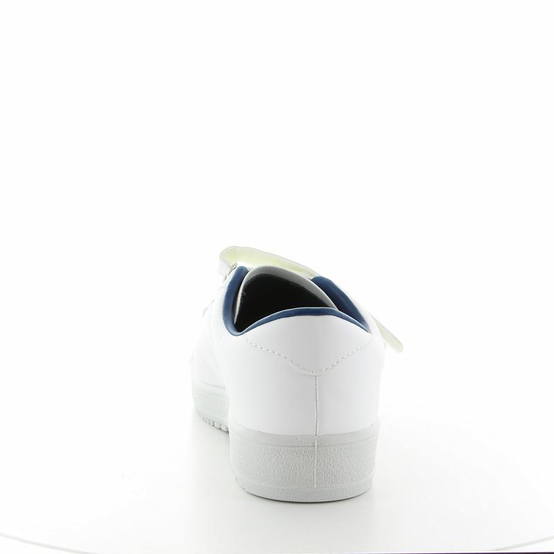 ムーンスター メンズ/レディース リハビリ 介護靴 片足販売 Vステップ07 (右足のみ) ホワイト