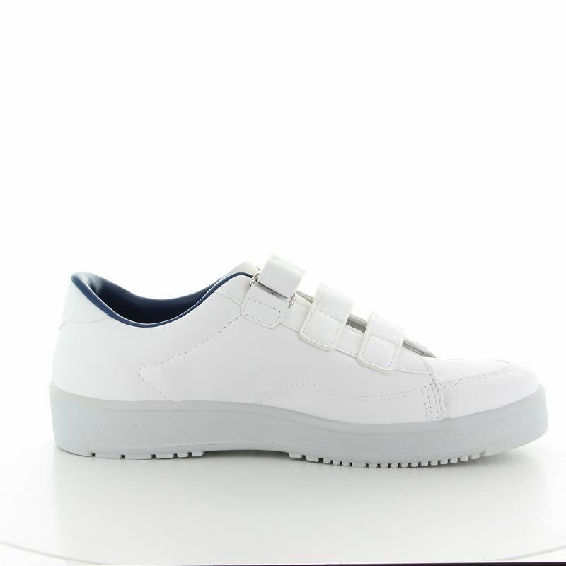 ムーンスター メンズ/レディース リハビリ 介護靴 片足販売 Vステップ07 (左足のみ) ホワイト