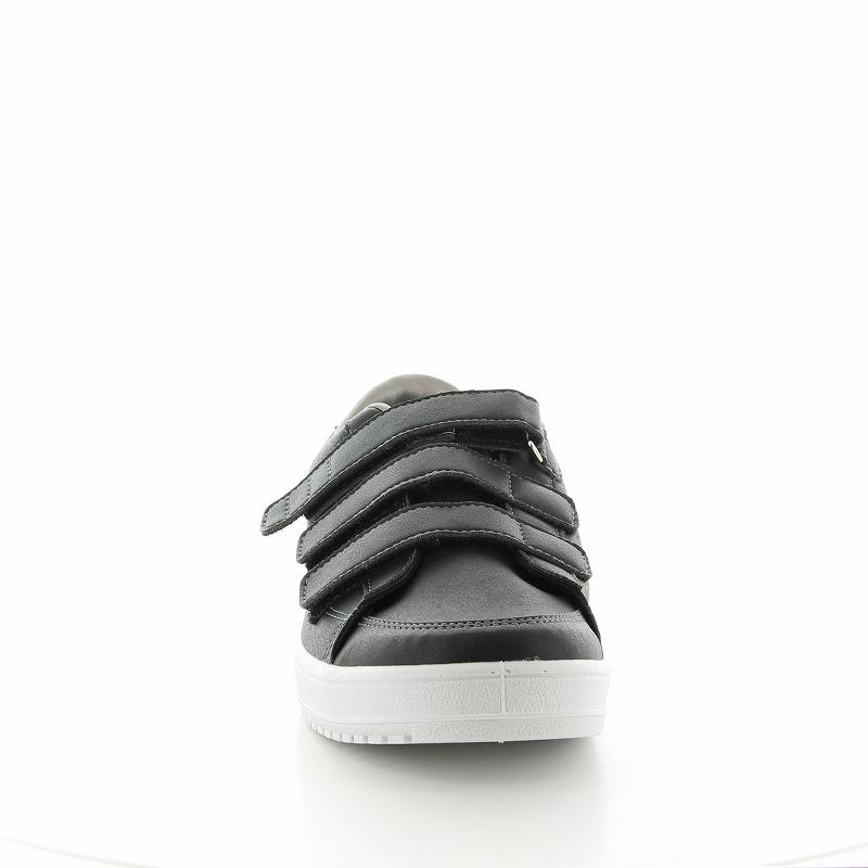 ムーンスター メンズ/レディース リハビリ 介護靴 片足販売 Vステップ07 (右足のみ) ブラック