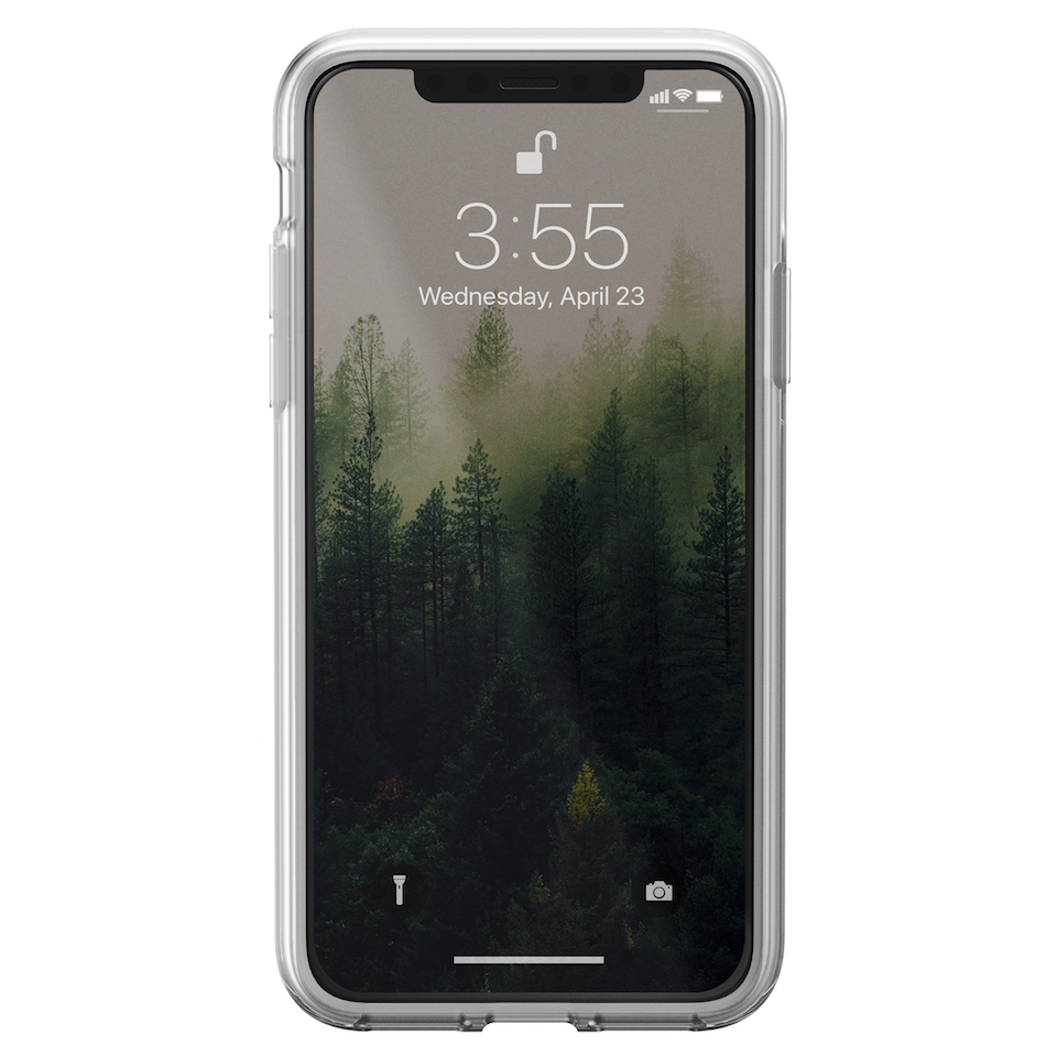 NOMAD CLEAR CASE for iPhoneX