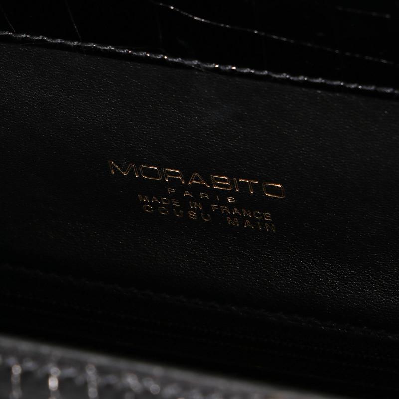ORSAY PM クロコダイル(オルセー PM)ブラック