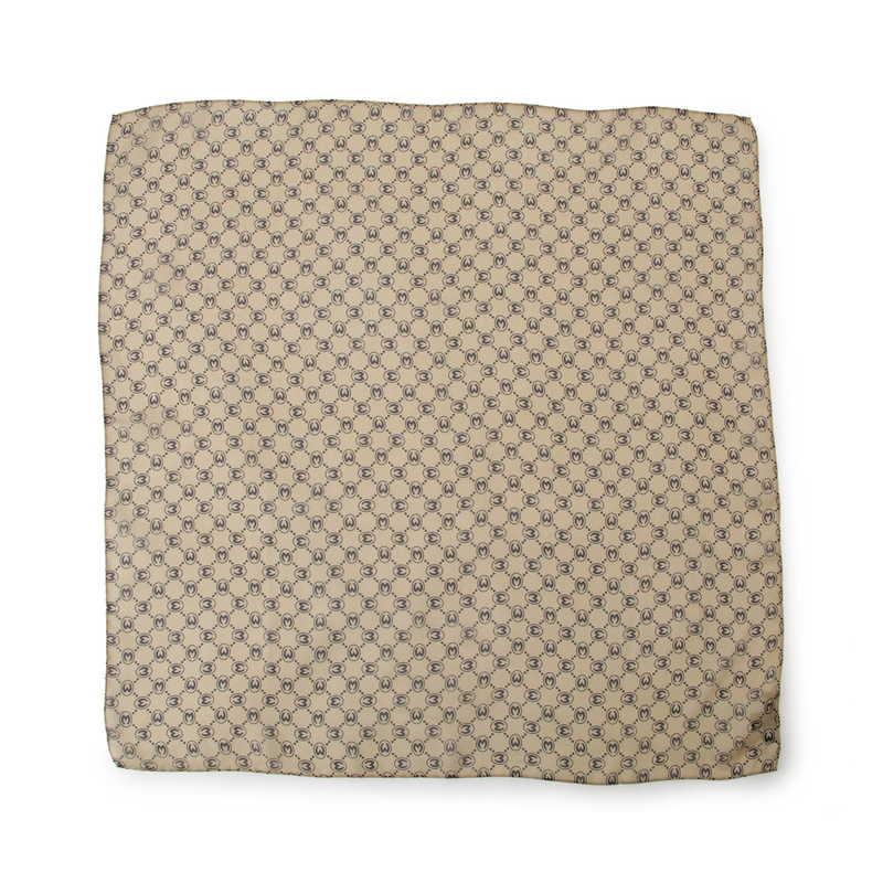 モノグラム スカーフ 65S シルク 20