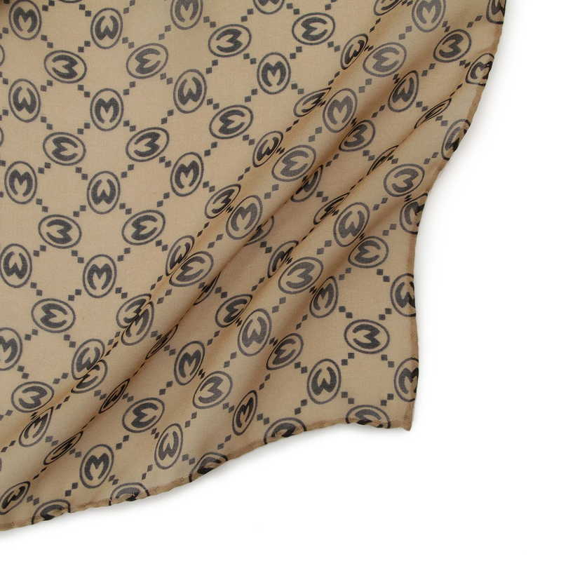 モノグラム ロング・スカーフ 45S シルク 20