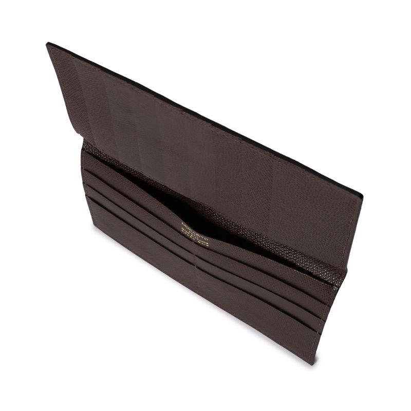 長財布(札入れ)/マチ無し ダークブラウン