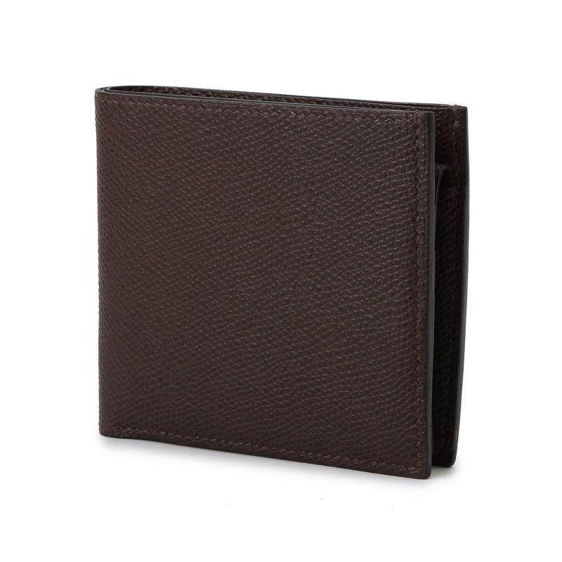 2つ折り財布(小銭入付) ダークブラウン