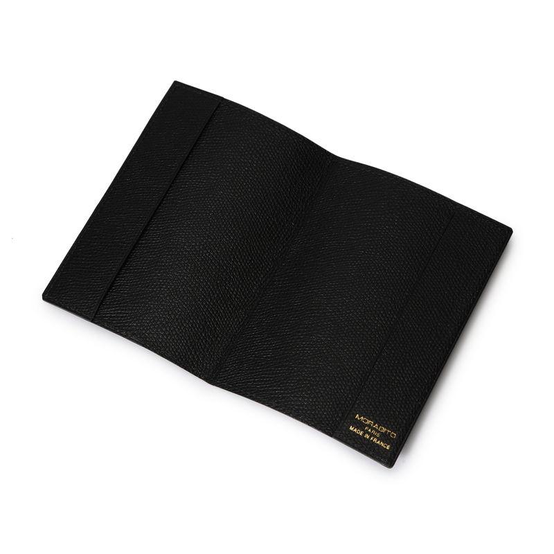パスポートケース ブラック×ブラック