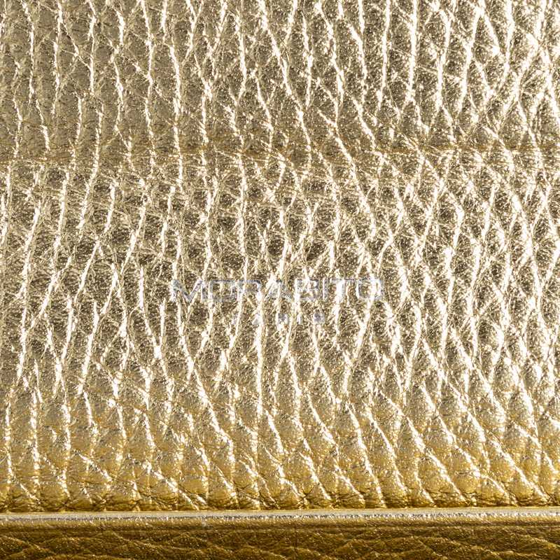 Long Wallet(FLAP) 長財布 (フラップ) カーフ (ライニング:ラムレザー) ゴールド 94(シルバー金具)