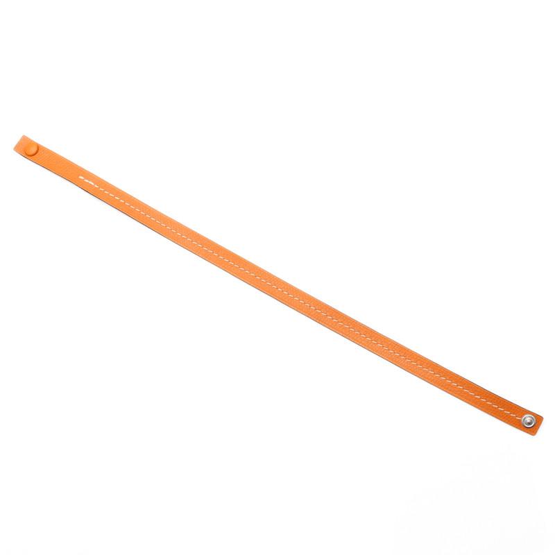 Colors Brecelet(カラーズ ブレスレット)オレンジ×オフホワイト
