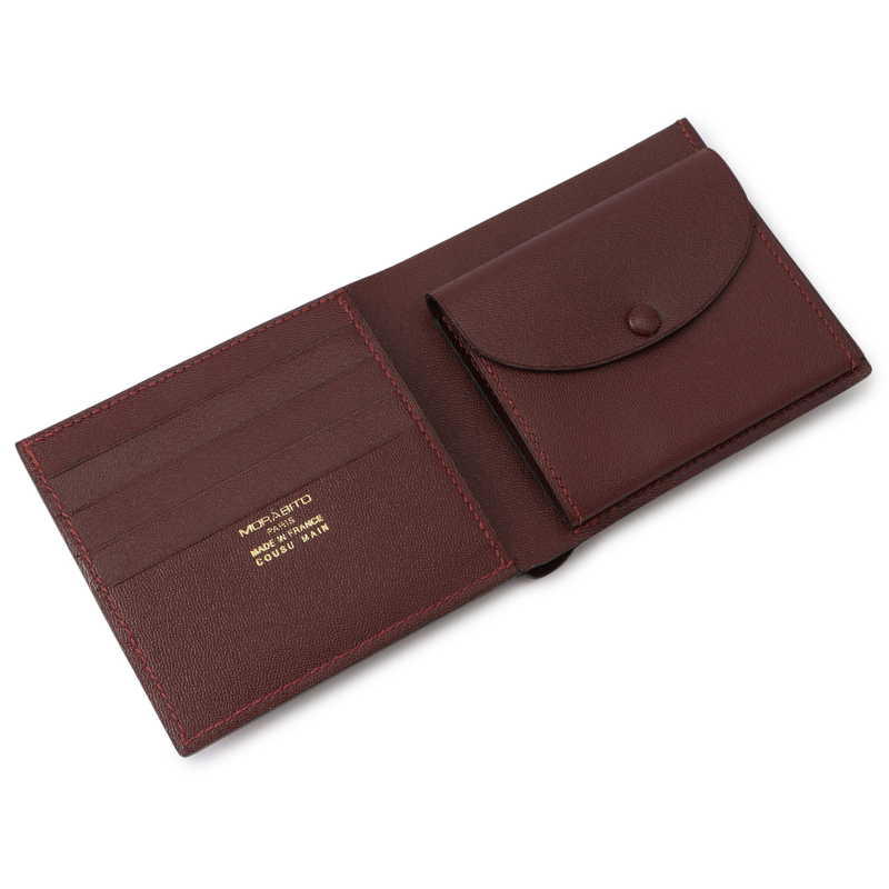 2つ折り財布(小銭入れ付) ルージュ