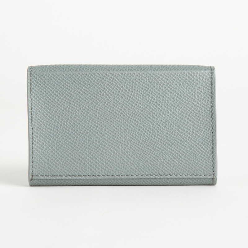 【NEW】 Card Case  カードケース カーフ (ライニング:ラムレザー) グレー 11