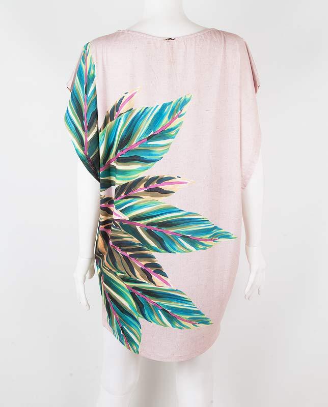 ボタニカルTシャツドレス Morena Rosa