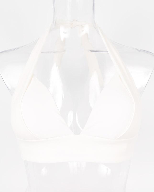 アジアンフラワー柄 ホルターネック水着 【LAULEA】