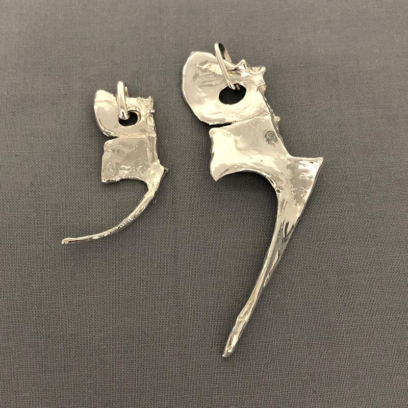 銀製 根付 鯛の鯛(大)