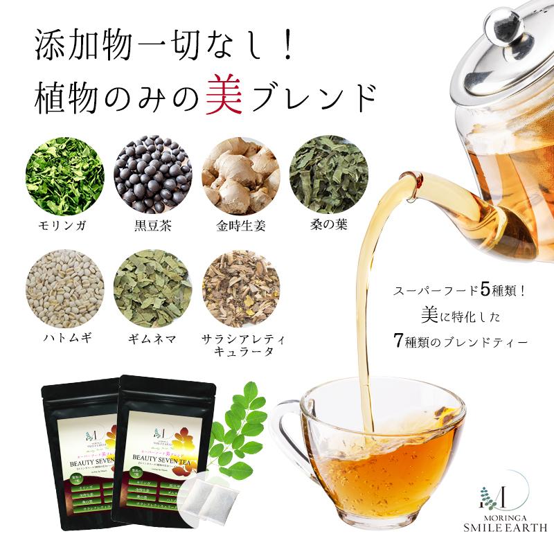 【定期便】BEAUTY SEVEN TEA (ビューティーセブンティー)2袋セット
