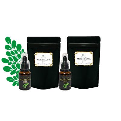 モリンガシードオイル/原材料の種バングラデシュ産(2本)