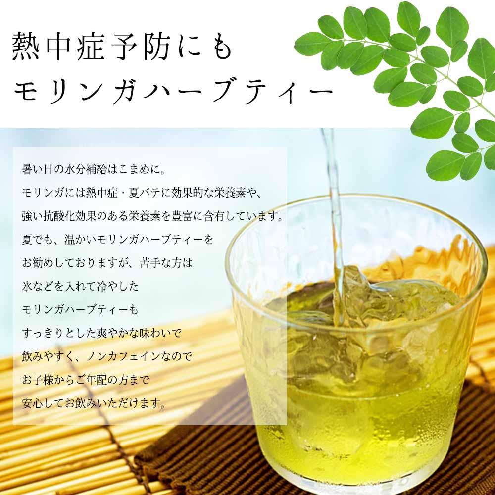 【定期便】天草産100%モリンガハーブティー (1袋)