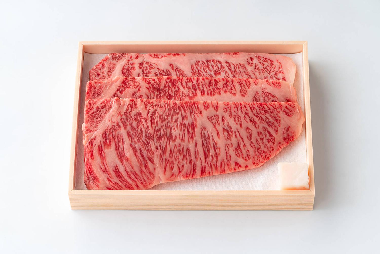 近江牛 サーロインステーキ(3枚セット)【上】