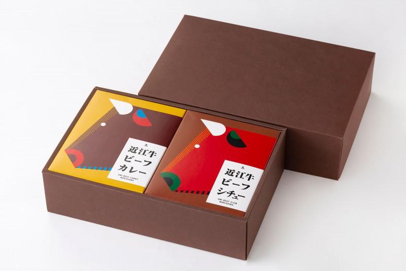 近江牛ビーフカレー・ビーフシチューセット(6食入)