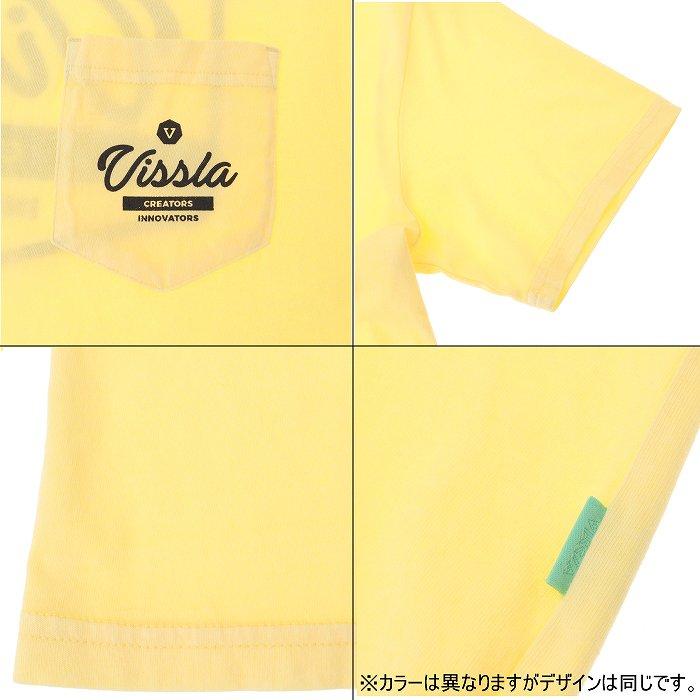 [ネコポス対応]VISSLA ヴィスラ tシャツ UNITED SS PKT TEE ユナイテッドポケットティー M482LUNI19SU