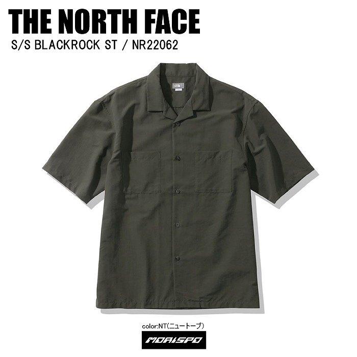 [ネコポス対応]THE NORTH FACE ノースフェイス tシャツ S/S BLACKROCK ST ブラックロックST NR22062 ニュートープ